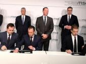Potpisano pismo o namerama - korak ka obnovi železničkog saobraćaja između Beograda i Prištine