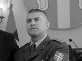 In memoriam: Major dr Saša Dimitrijević