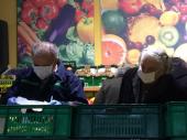 Vanredno stanje: Penzioneri obavili kupovinu