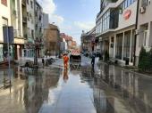 Komrad nastavlja sa dezinfekcijom javnih površina