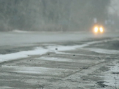 Prvi april, a zimski uslovi za vozače