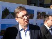 Vučić: Teška noć iza nas a biće još mnogo težih