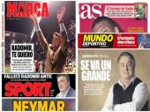 Španija žali za Antićem: Naslovnice posvećene Misteru