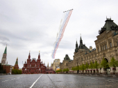 Evropa pod karantinom obeležava Dan pobede; Defile vazduhoplovne flote u Moskvi (VIDEO)