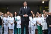 Vučić: Situacija u Vranju nije dobra