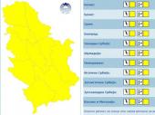 NA SNAZI ŽUTI METEOALARM: Nevreme u Srbiji do kraja nedelje, a evo kada nam stiže pravo leto