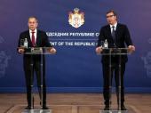 Vučić posle razgovora s Lavrovom dodatno zabrinut zbog ideja o rešenju kosovske krize
