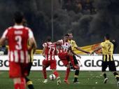 Molotovljevi kokteli i palice odložili finale grčkog Kupa