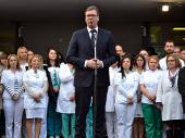 Vučić: Za 10 dana počinje REKONSTRUKCIJA VRANJSKE BOLNICE