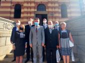 Dan oslobođenja: Prijem za delegaciju SUBNOR-a