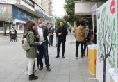Promocija i upoznavanje građana sa principima ENLD u centru Vranja