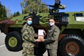 Ministar Vulin: Doprinos Četvrte brigade očuvanju našeg mira je ogroman