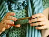 Telefon koji se može prati sapunom i izbeljivačem