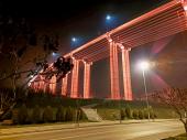 Most Vrla svetli NARANDŽASTO kao podrška borbi protiv NASILJA NAD ŽENAMA