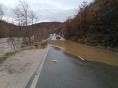 Izlila se Binačka Morava: Poplavljen i administrativni prelaz sa Kosovom i Metohijom