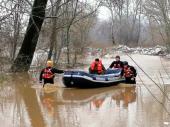 MUP: Evakuacija i pomoć poplavljenima u Zlatokopu