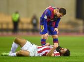 Mesi nokautirao rivala i dobio prvi crveni otkad je u Barseloni VIDEO
