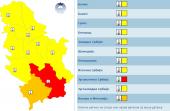 Crveni meteoalarm: RHMZ izdao upozorava na jaki mraz, temperature će ići i do -15