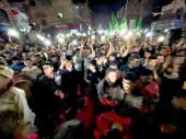 Primirje između Izraela i Hamasa, slavlje na ulicama,