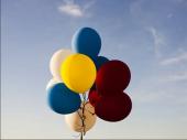 Jutjuber uhapšen jer je zakačio balone za psa kako bi leteo FOTO