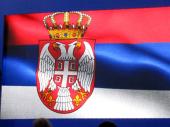 Sonja Vasić i Filip Filipović nose zastavu Srbije na otvaranju OI