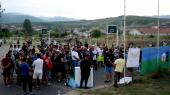 Protest Roma iz Hana i Surdulice  zbog ubistva sunarodnika u Češkoj