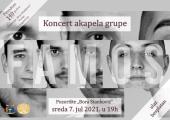 Koncert grupe Famos za jubilej Gimnazije