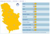 Tropski period: U Srbiji je naredna tri dana na snazi narandžasti meteoalarm