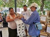Pomoć najugroženijim Romima: Podeljeni paketi sa sredstvima za higijenu