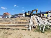 Počelo uređenje tribina na Gradskom stadionu