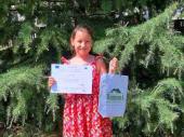 Treće mesto za Lanu iz Vranja na međunarodnom eko konkursu