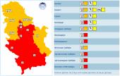 Upaljen CRVENI METEOALARM, kiša zaobilazi jug Srbije