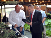 Ministar privrede Republike Srpske u poseti JUMKU (FOTO)