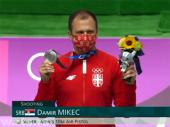 OI: Prva medalja za Srbiju – Mikec osvojio srebro u disciplini vazdušni pištolj