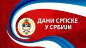 Dani Srpske u Srbiji od 22. do 29. septembra