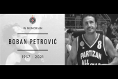 Preminuo bivši košarkaš Partizana Boban Petrović