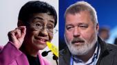 Nobelova nagrada za mir za 2021: Novinari Marija Reša i Dmitrij Muratov laureati - hrabro se bore za slobodu izražavanja