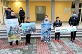 Protest surduličkih ZELENIH: Dijalogom do rešenja
