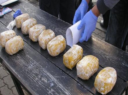 AMBICIOZNO: Uhvaćen sa 8,5 kila heroina!