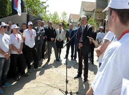 Predsednik Srbije silazi na jug