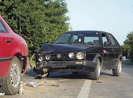 Dva povređena u dve saobraćajke