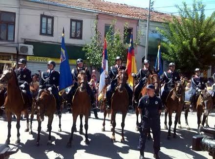 Policija prodefilovala ulicama Vranja