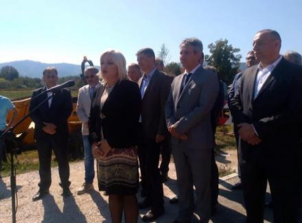 Ministarka otvorila radove na KOLEKTORU (VIDEO)